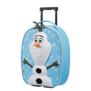 SAMSONITE - Παιδική βαλίτσα τρόλεϋ SAMSONITE UPRIGHT 50/18 OLAF -DISNEY γαλάζια