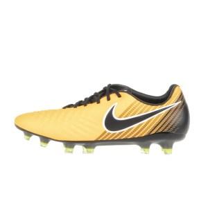NIKE - Ανδρικά ποδοσφαιρικά παπούτσια NIKE MAGISTA OPUS II FG πορτοκαλί - μαύρα