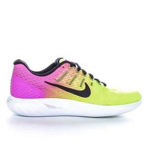 bba79bf6753 NIKE - Γυναικεία παπούτσια για τρέξιμο Nike LUNARGLIDE 8 OC κίτρινα - ροζ