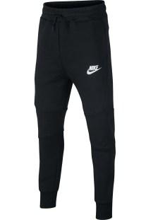 NIKE - Παιδική αγορίστικη φόρμα Nike Sportswear Tech Fleece μαύρη