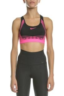 NIKE - Γυναικείο αθλητικό μπουστάκι NIke PRO HYPR CLSC PAD μαύρο - ροζ