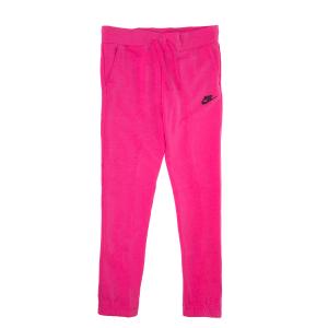Nike Παιδικα Αθλητικα Ρουχα 2019 Πολυ Φθηνα Χρωμα  Ροζ απο το Factory  Outlet. NIKE - Κοριτσίστικο παντελόνι φόρμας Nike FLC REG ροζ a69e660997c