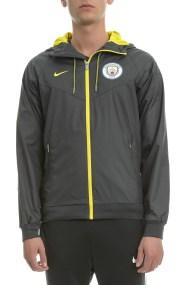 NIKE - Ανδρικό αθλητικό μπουφάν Nike MCFC WR AUT γκρι