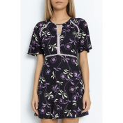 Juicy Couture JUICY COUTURE - Μίνι φόρεμα JUICY ROMA φλοράλ 2018