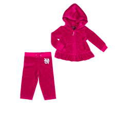 JUICY COUTURE KIDS - Βρεφικό σετ JUICY COUTURE KIDS κόκκινο