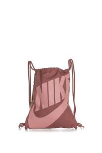 NIKE - Unisex σακίδιο πλάτης Nike Heritage Gymsack εκρού ροζ