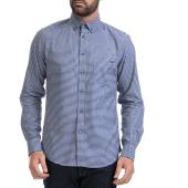 GAS - Αντρικό πουκάμισο GAS άσπρο-μπλε image