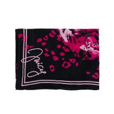 JUICY COUTURE - Γυναικείο φουλάρι JUICY COUTURE μαύρο-ροζ