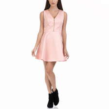 GUESS - Γυναικείο φόρεμα GUESS ροζ