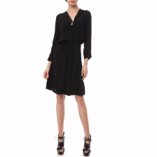 SCOTCH & SODA - Γυναικείο φόρεμα Maison Scotch μαύρο