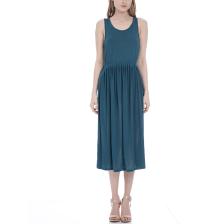 AMERICAN VINTAGE - Γυναικείο φόρεμα American Vintage πετρόλ