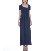American Vintage AMERICAN VINTAGE - Γυναικείο φόρεμα American Vintage μπλε 2018