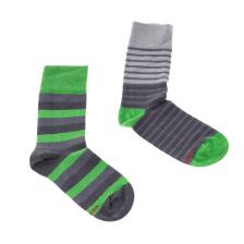 GSA - Ανδρικό σετ κάλτσες GSA γκρι-πράσινο