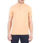 GANT - Ανδρική κοντομάνικη polo μπλούζα Gant ροδακινί image