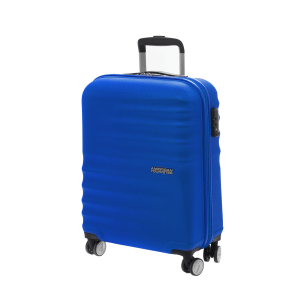 AMERICAN TOURISTER - Βαλίτσα καμπίνας American Tourister WAVEBREAKER SPINNER μπλε