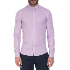 GUESS - Ανδρικό πουκάμισο GUESS μοβ