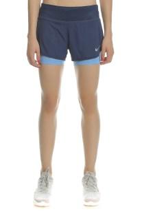 NIKE - Γυναικείο σορτς για τρέξιμο Nike FLX 2IN1 SHORT RIVAL μπλε