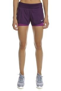 NIKE - Γυναικείο σορτς για τρέξιμο Nike FLX 2IN1 SHORT RIVAL μοβ