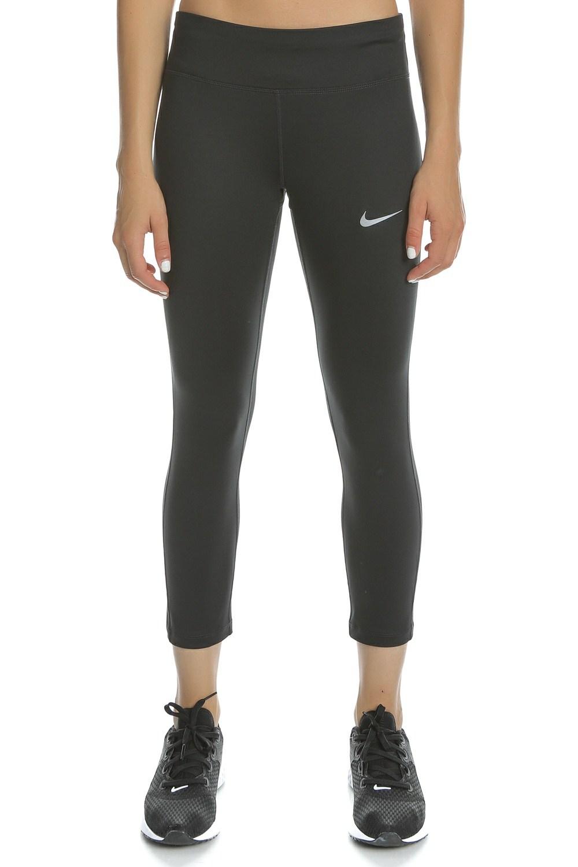 NIKE - Γυναικείο κάπρι κολάν για τρέξιμο NIKE ESSENTIAL CROP DF 3/4 μαύρο