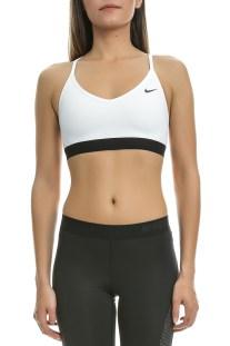 NIKE - Γυναικείο αθλητικό μπουστάκι Nike Favorites λευκό - μαύρο