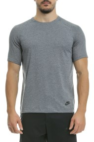NIKE - Αθλητική κοντομάνικη μπλούζα Nike γκρι