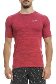 NIKE - Αθλητική κοντομάνικη μπλούζα Nike κόκκινη