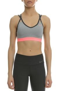 NIKE - Γυναικείο αθλητικό μπουστάκι Nike PRO INDY STRAPPY γκρι