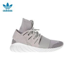 adidas Originals - Ανδρικά αθλητικά παπούτσια Tubular Doom Primeknit Trainers γκρι
