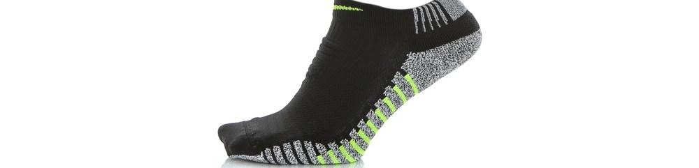 NIKE - Ανδρικές αθλητικές κάλτσες NIKEGRIP LIGHTWEIGHT μαύρες