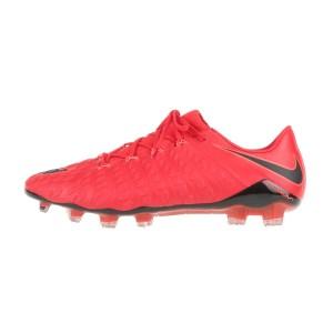 NIKE - Ανδρικά παπούτσια ποδοσφαίρου Nike HYPERVENOM PHANTOM III FG κόκκινα