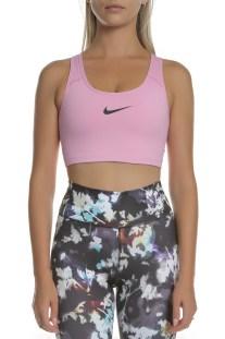 NIKE - Γυναικείο αθλητικό μπουστάκι NIKE SWOOSH ροζ
