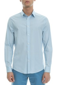 BEN SHERMAN - Ανδρικό πουκάμισο Ben Sherman γαλάζιο