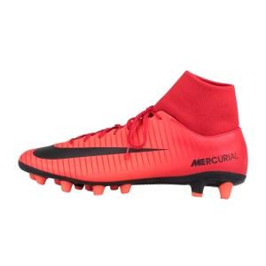 NIKE - Ανδρικά ποδοσφαιρικά παπούτσια Nike MERCURIAL VICTORY VI DF AGPRO κόκκινα