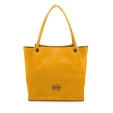 FOLLI FOLLIE - Γυναικεία μεγάλη τσάντα ώμου Folli Follie πορτοκαλί