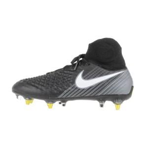 NIKE - Ανδρικά ποδοσφαιρικά παπούτσια Nike MAGISTA OBRA II SG-PRO AC μαύρα-γκρι