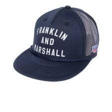 FRANKLIN & MARSHALL - Καπέλο τζόκεϋ Franklin & Marshall μπλε