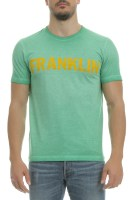 FRANKLIN & MARSHALL - Ανδρική μπλούζα Franklin & Marshall πράσινη image