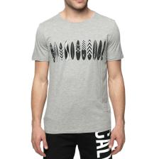 CK UNDERWEAR - Ανδρική κοντομάνικη μπλούζα CK γκρι
