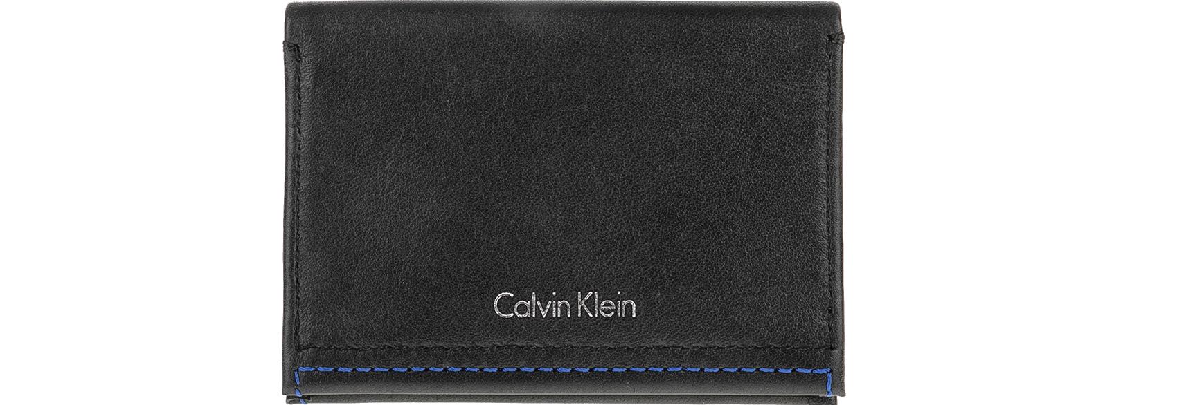 CALVIN KLEIN JEANS - Θήκη καρτών Calvin Klein Jeans μαύρη