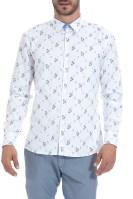 SSEINSE - Ανδρικό πουκάμισο SSEINSE λευκό image