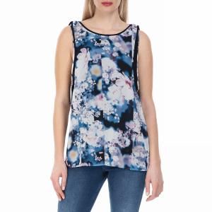 CALVIN KLEIN JEANS - Γυναικεία αμάνικη μπλούζα Calvin Klein Jeans φλοράλ