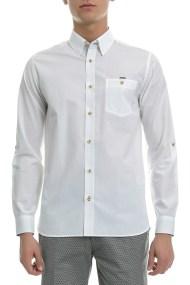 TED BAKER - Ανδρικό πουκάμιο Ted Baker λευκό