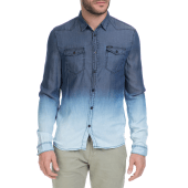 GUESS - Ανδρικό πουκάμισο GUESS μπλε image