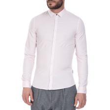 GUESS - Ανδρικό πουκάμισο GUESS ροζ