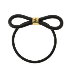JUICY COUTURE - Λαστιχάκι μαλλιών Juicy Couture μαύρο με φιόγκο