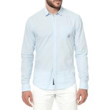 SCOTCH & SODA - Ανδρικό μακρυμάνικο πουκάμισο Scotch & Soda γαλάζιο