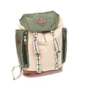 SCOTCH & SODA - Ανδρική τσάντα πλάτης SCOTCH & SODA χακί-μπεζ image