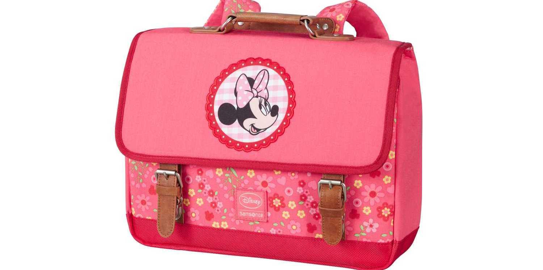 SAMSONITE - Παιδική τσάντα πλάτης SAMSONITE STYLIES SCHOOLBAG S DISNEY ροζ