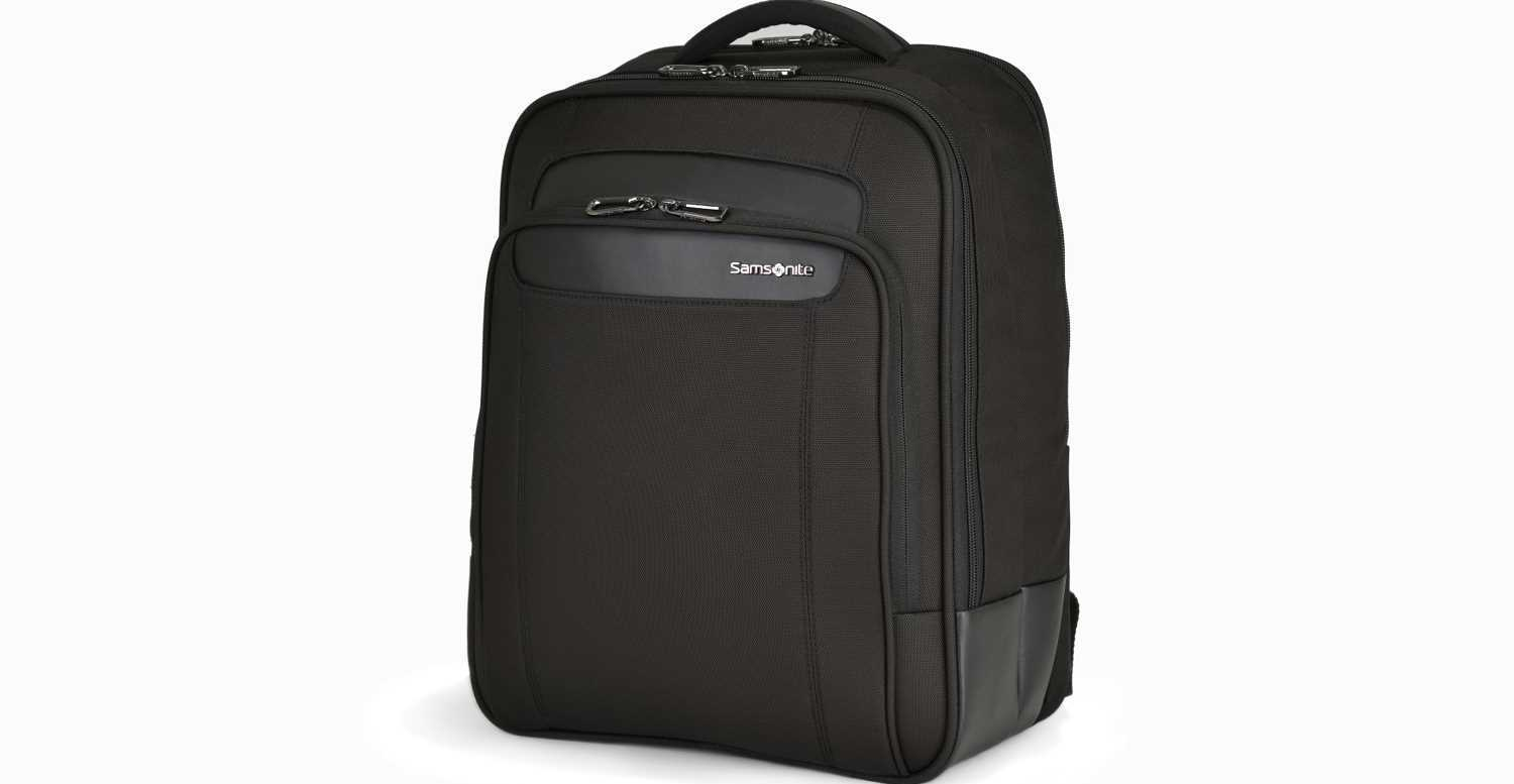 SAMSONITE - Unisex τσάντα πλάτης SATARA LAPTOP BACKPACK 15.6 μαύρη