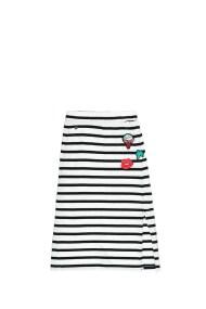 GARCIA JEANS - Παιδική φούστα Garcia Jeans λευκή-μαύρη